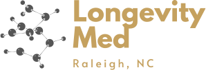 logo Hormone Health Test for Men | LongevityMed | Raleigh, NC